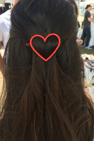 Sweet Heart Hair Clip