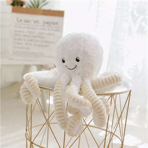 Lovely Simulation Octopus Plush Stuffed Toy Soft Animal Home Accessories Cute Doll Children Gifts