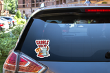 Tiger King - Carole Did It - Meat Grinder Decal