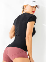 Seamless Yoga Workout Tees