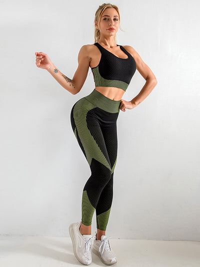 Seamless Sport Two Pieces Outfits