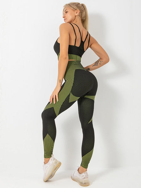 Mesh Speed Seamless Gym Suit
