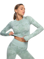High Elastic Fitness Yoga Two Piece Outfits