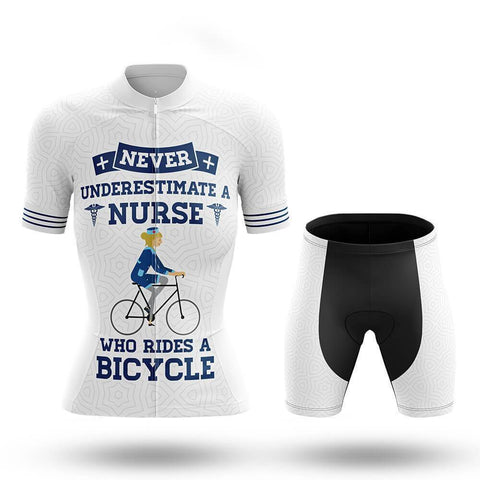 Cycling Nurse V2 - Women's Cycling Kit(#728)