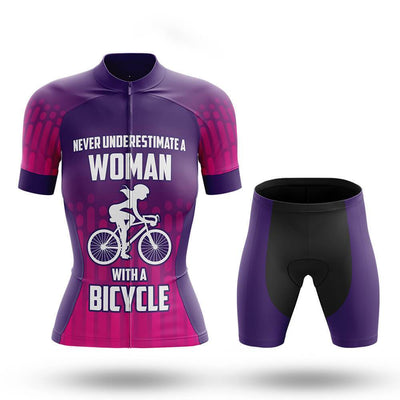 Woman V7 - Women's Cycling Kit(#677 )