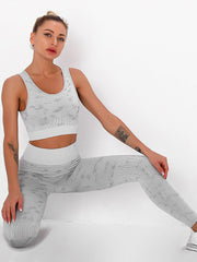 Yoga Leggings Sports Bra 2 Pieces