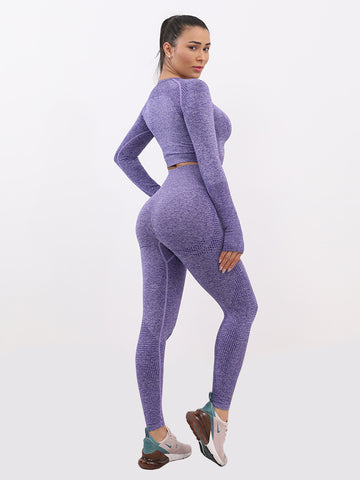 Seamless Workout Two Pieces Outfits