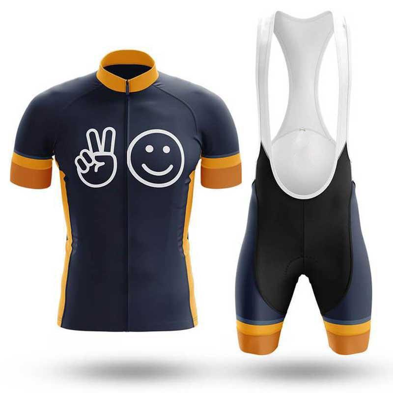 SMILE Cycling Short Sleeve Jersey Set (#428 )