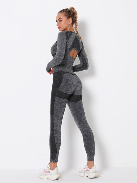 Seamless Workout Two Piece Outfits