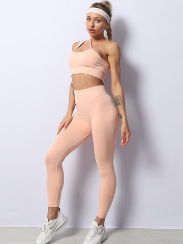 Yoga Seamless Two Piece Outfits