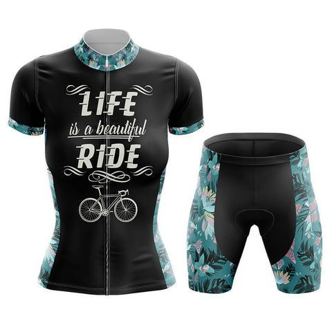 Beautiful ride Women's Cycling Kit(#755)