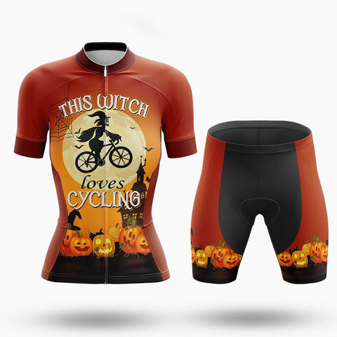 This Witch Loves Cycling - Women - Cycling Kit (#769 )