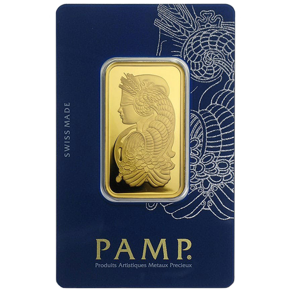 1 Oz PAMP Fortuna Veriscan Gold Bar