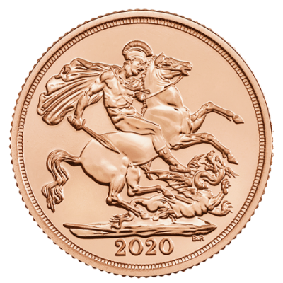 2020 Full Gold Sovereign Coin
