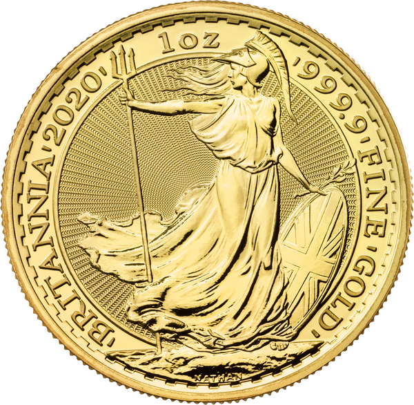2020 Britannia 1oz Gold Coin