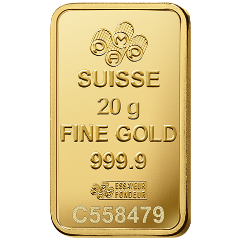 20 Gram Pamp Fortuna Veriscan Gold Bar