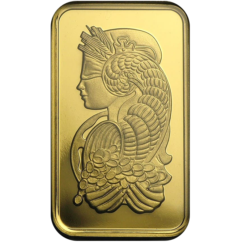100 Gram PAMP Fortuna Veriscan Gold Bar