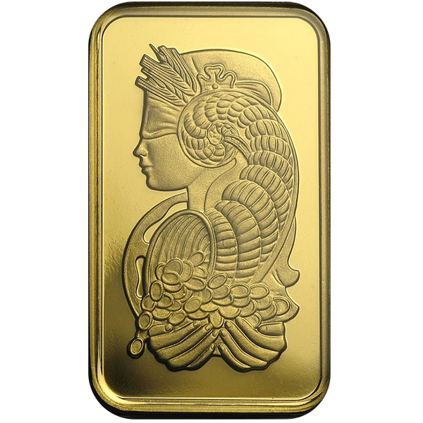 10 Gram PAMP Fortuna Veriscan Gold Bar