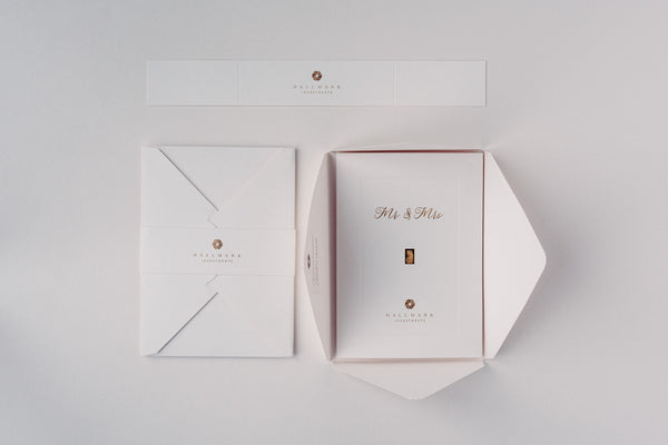Wedding Gold Bar Gift Card