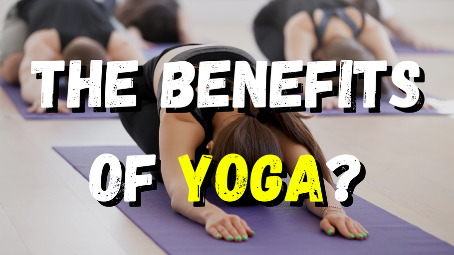 The benefits of yoga!