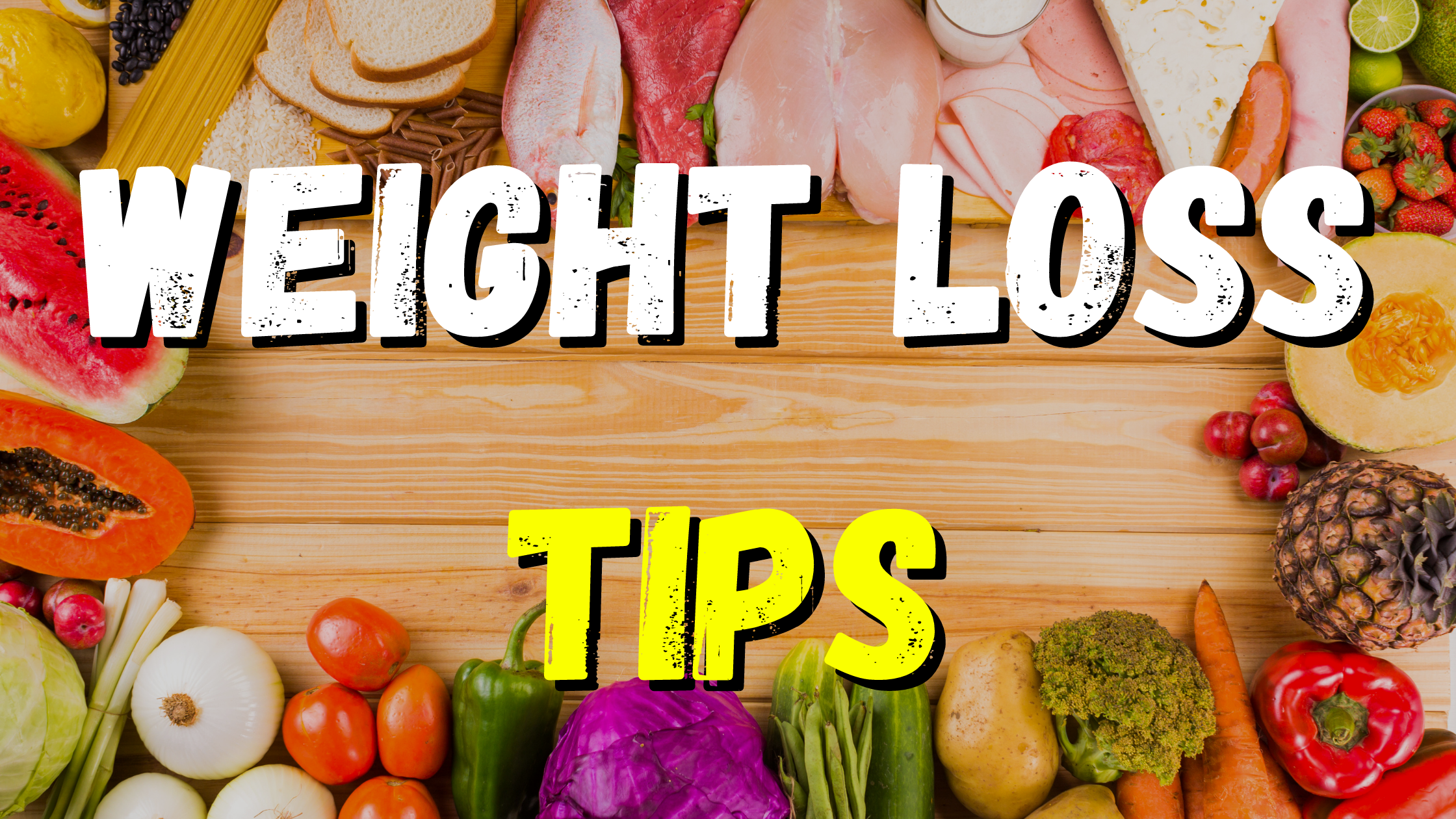 Weight-loss tips