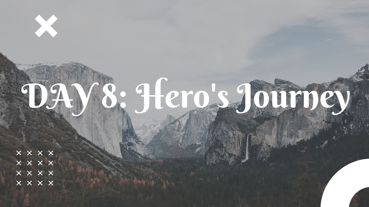 Day 8 Hero's journey free guided workouts