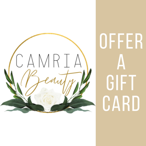 CamriaBeauty Gift Cards - Camria Beauty