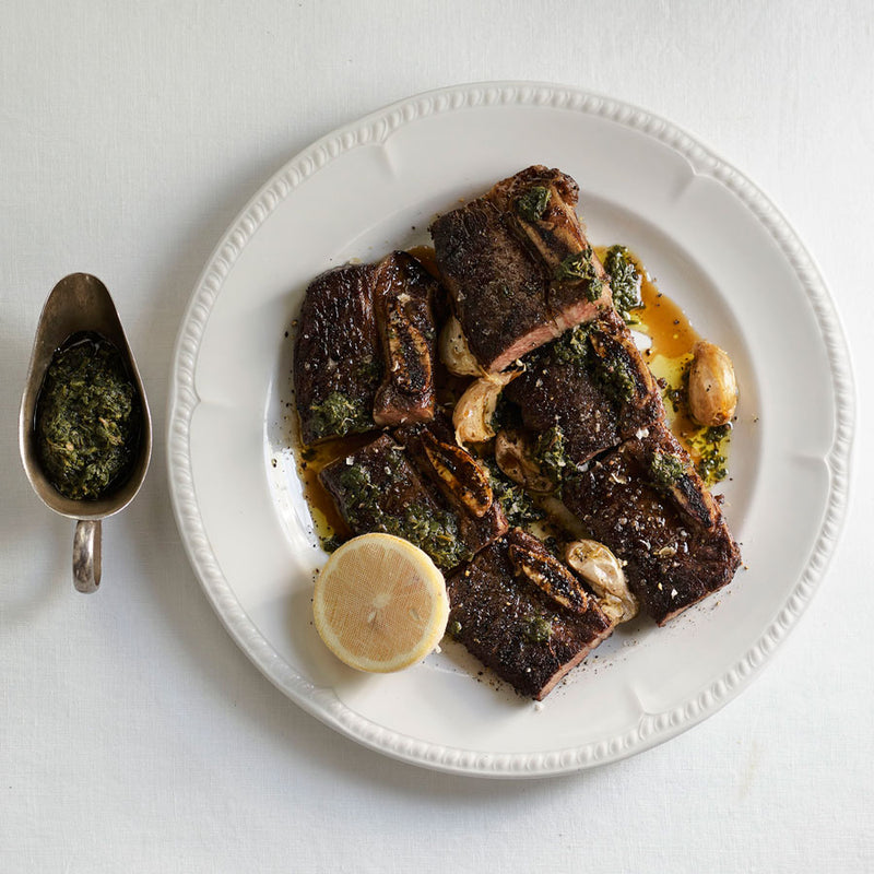 BERT'S AT HOME - GRILLED ASADO SHORT RIB OF BEEF