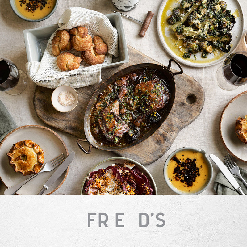 FRED'S AT HOME - BRAISED DUCK LEG