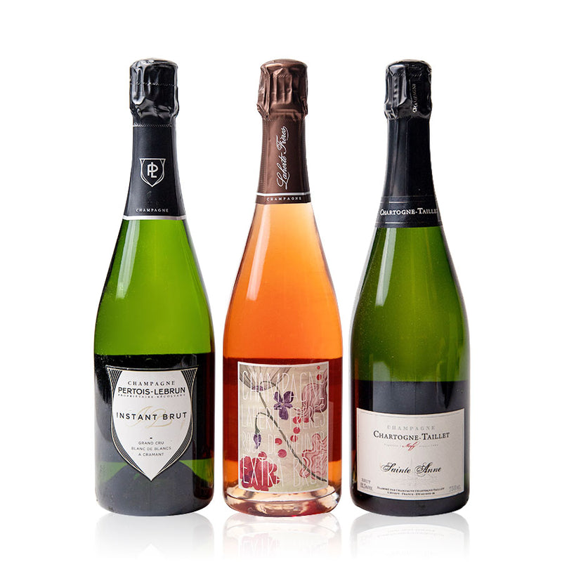FRENCH CHAMPAGNE 3 x PACK