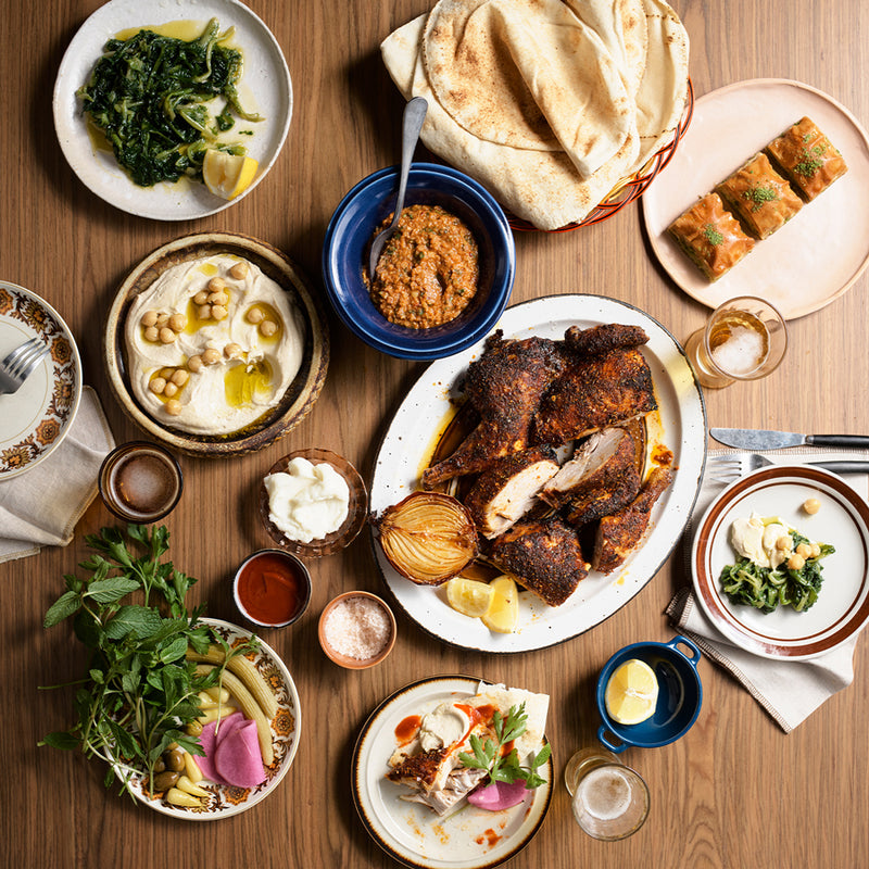 UNAVAILABLE - JIMMY'S FALAFEL AT HOME - MEZZE & SHAWARMA CHICKEN