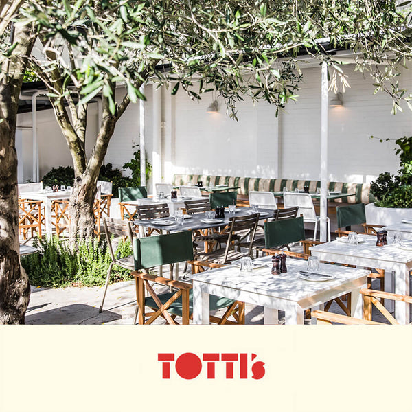 TOTTI'S RESTAURANT 6 x WINE PACK