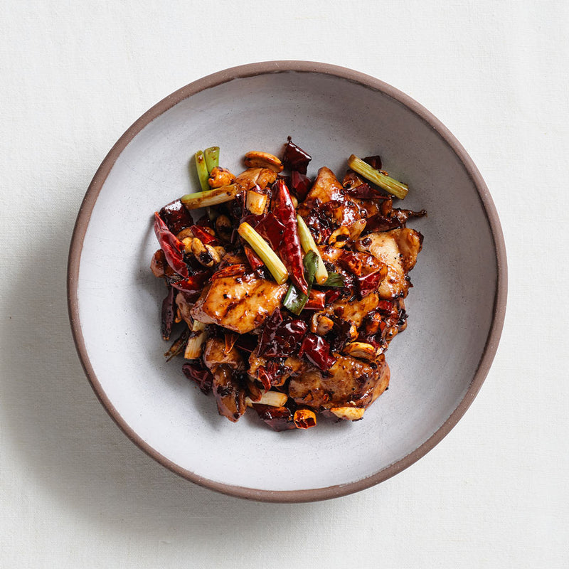 MR. WONG AT HOME - KUNG PAO CHICKEN & BARRAMUNDI