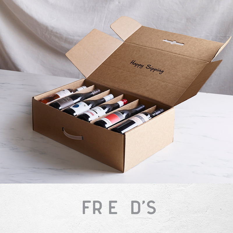 FRED'S RESTAURANT 12 x WINE PACK