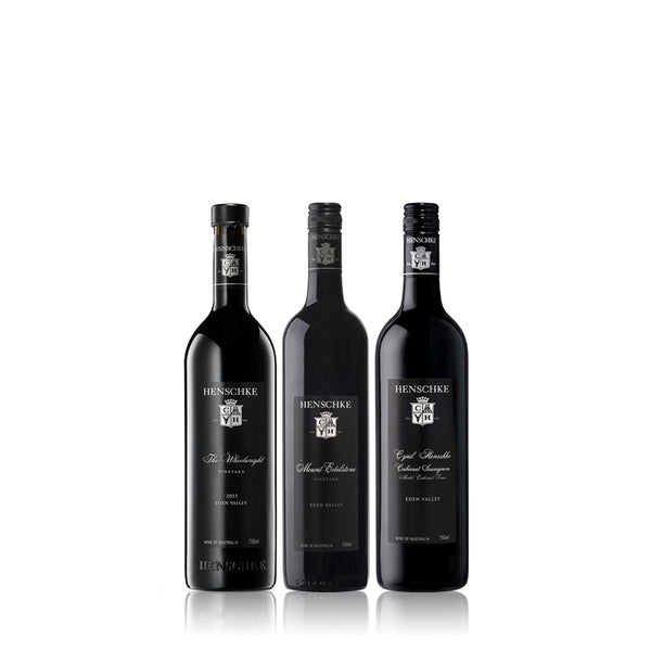 HENSCHKE SUPER PREMIUM 3 x WINE PACK