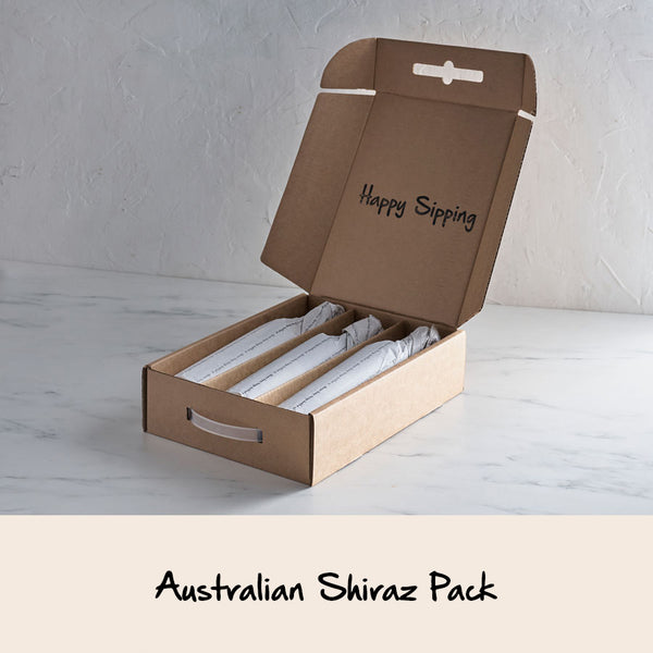 AUSTRALIAN SHIRAZ 3 x WINE PACK