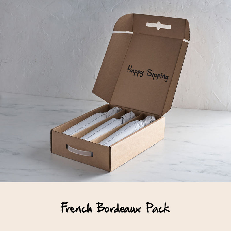 FRENCH BORDEAUX 3 x WINE PACK