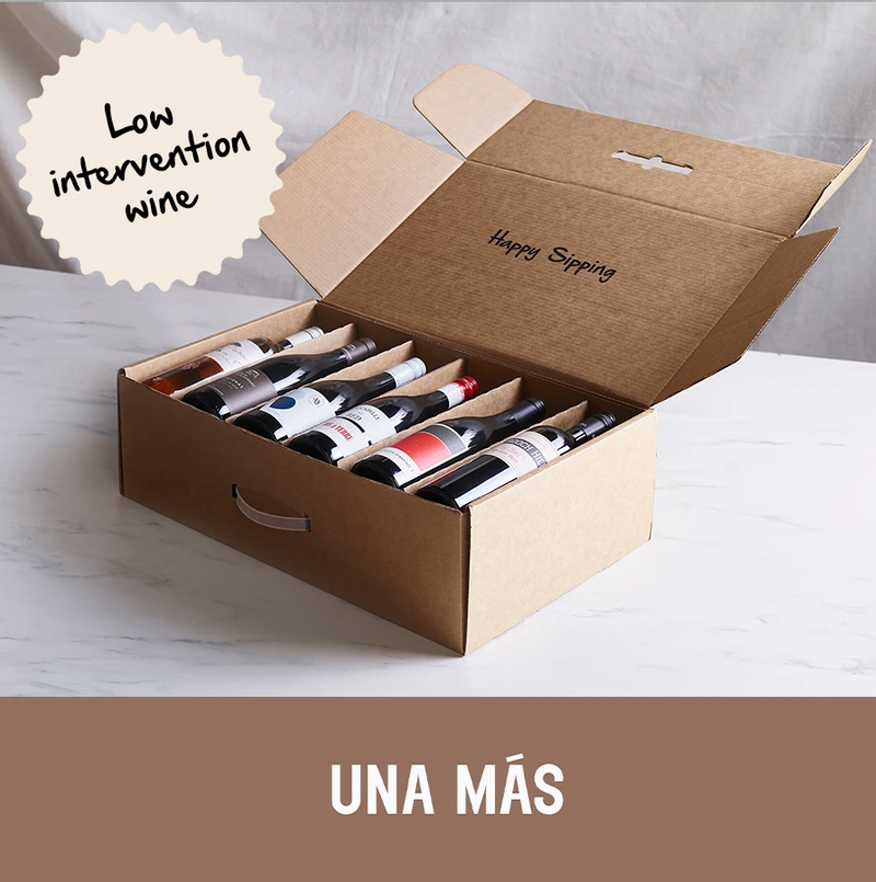 UNA MAS LOW INTERVENTION 12 x WINE PACK