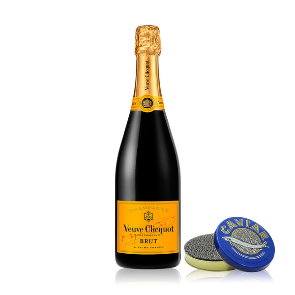 VEUVE NV AND STERLING STURGEON CAVIAR 50G