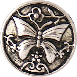 12mm Vintage Butterfly Snap