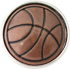 18/20mm Vintage Basketball Snap