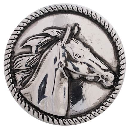 18/20mm Sleek Horse Snap
