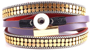 12mm Spring Bling Multi-Wrap Bracelet