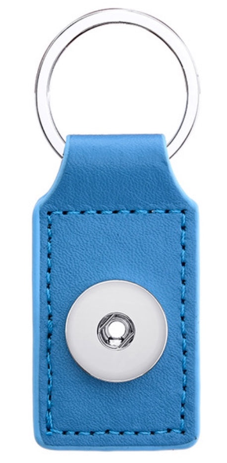 18/20mm Keychain & Bag/Purse Decoration - Light Blue
