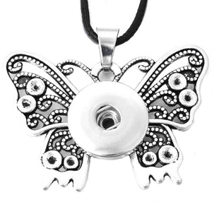 18/20mm Vintage Butterfly Necklace