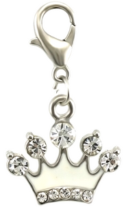 Crystal Crown Dangle Clip