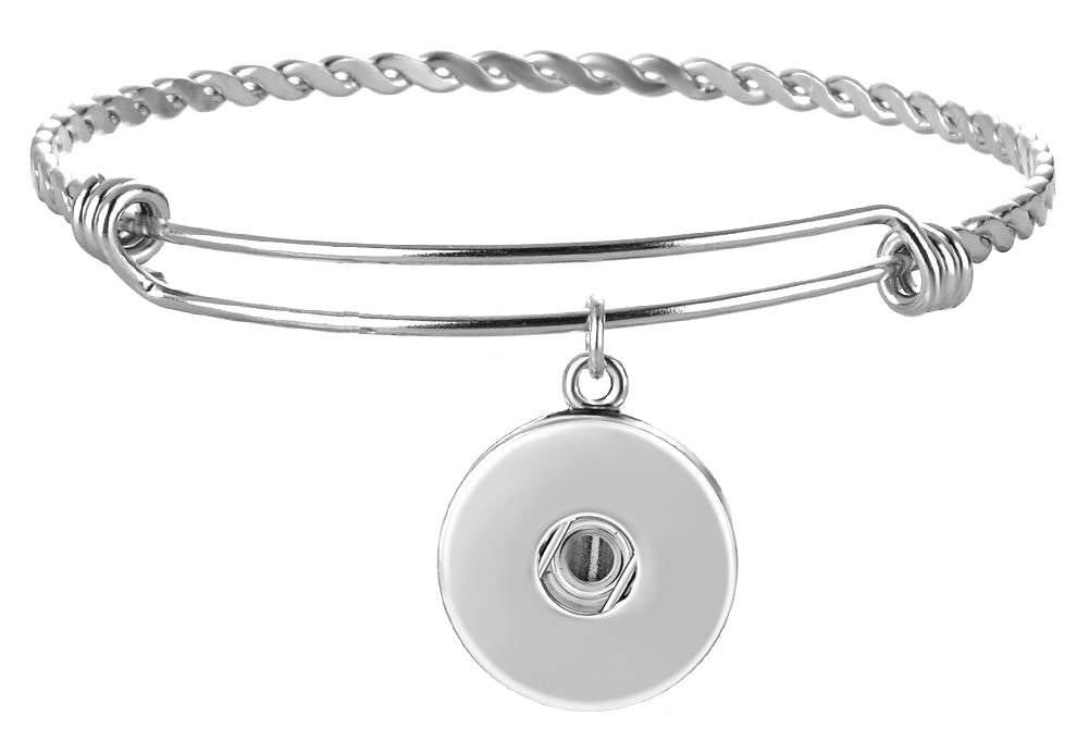 18/20mm Stainless Steel Loop Layering Bracelet