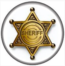 18/20mm  Sheriff Badge Snap