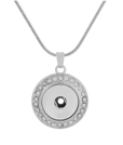 18/20mm Ultimate Sparkle Stainless Steel Necklace