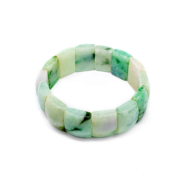 Beautiful Jade Bracelet with Vary Color Display